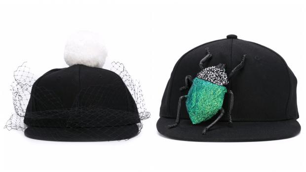 модные кепки с декором