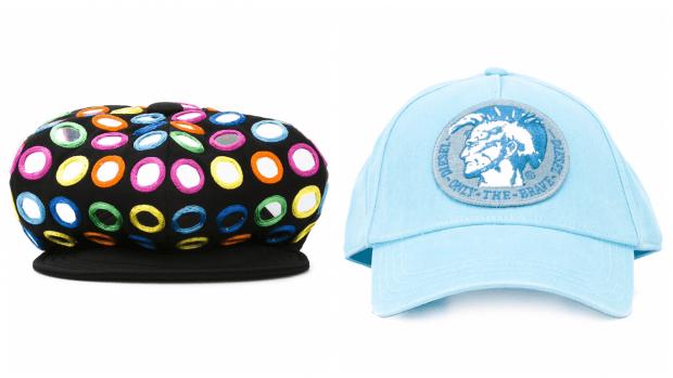 модные кепки цветные