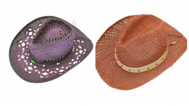 ковбойские шляпы цветные