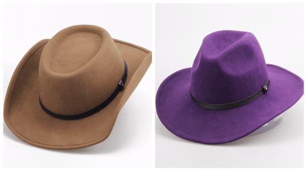 ковбойские шляпы с декором