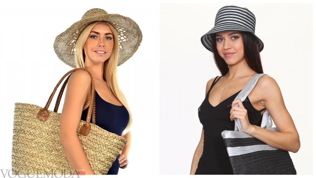летний лук шляпы
