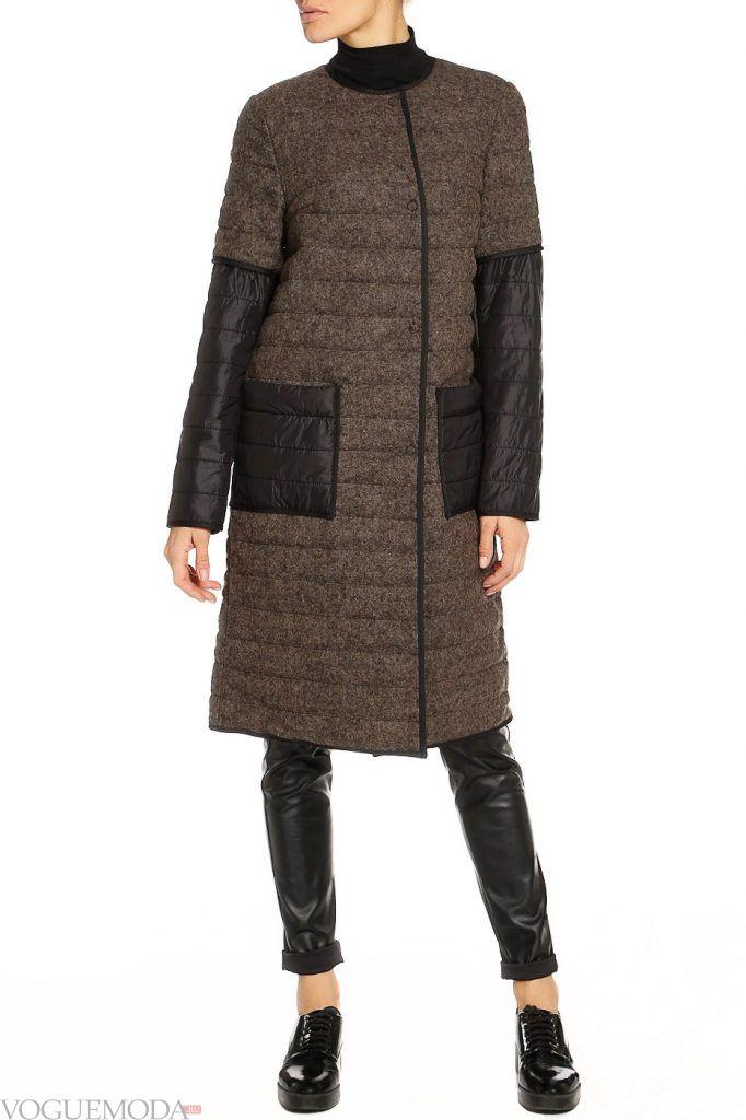 каждодневный образ с темным пальто