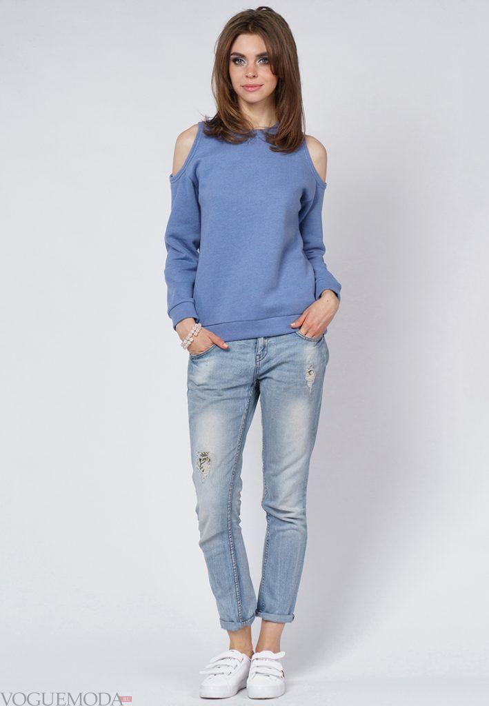 образ на каждый день с джинсами
