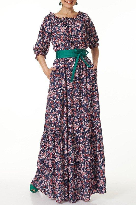 образ на каждый день платье с поясом