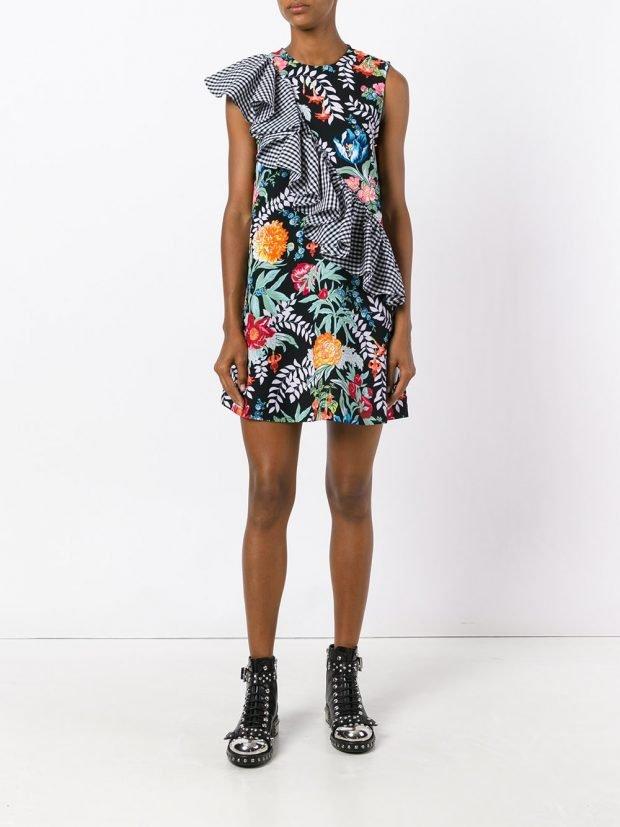 модные платья на каждый день: разноцветное весна лето