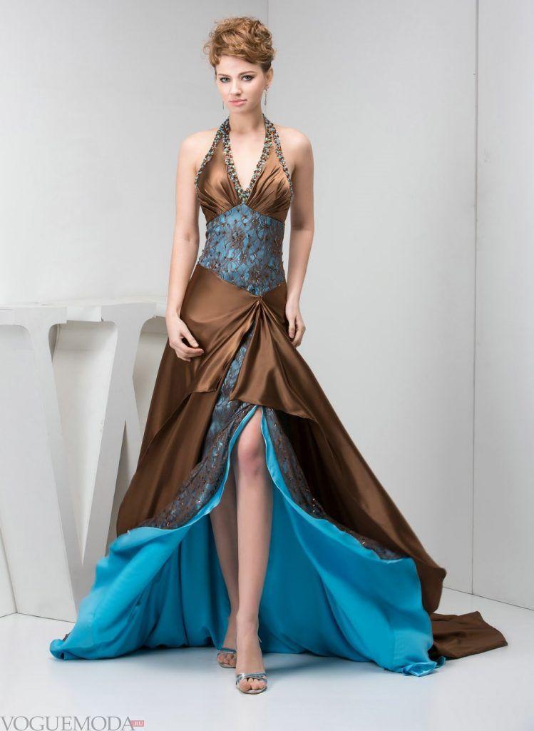 греческое выпускное платье цветное
