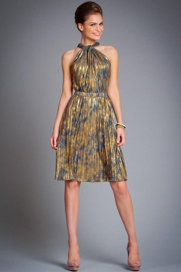 красивое платье на выпускной разноцветное
