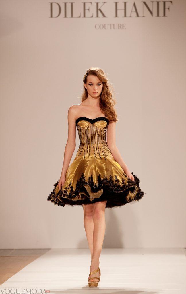 красивое платье на выпускной коричневое