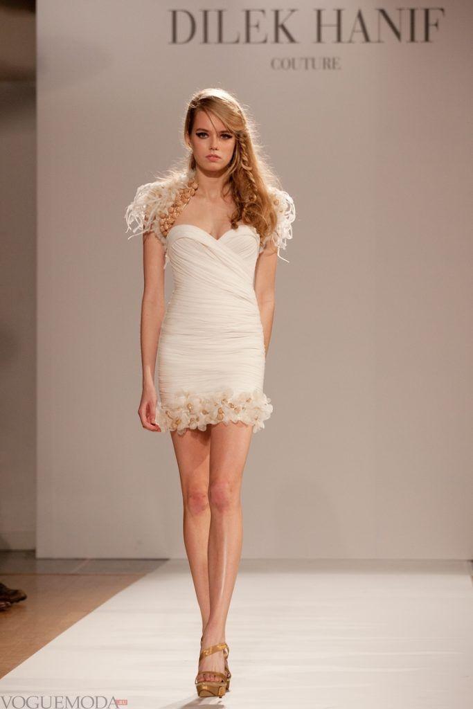 красивое платье на выпускной белое