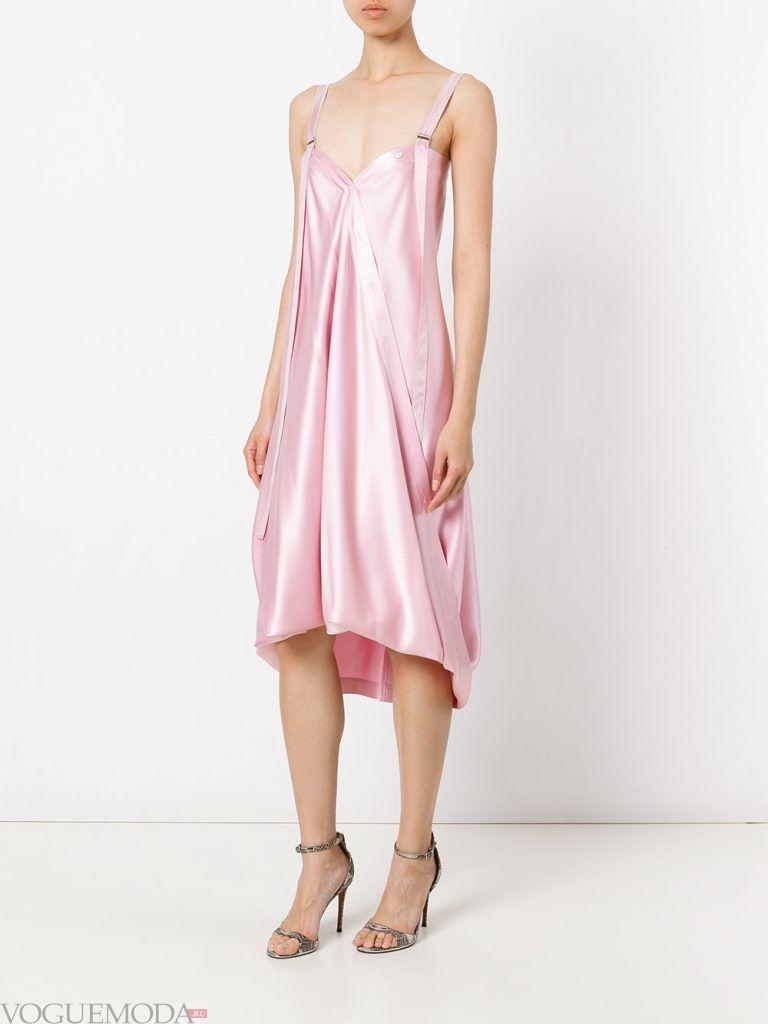 выпускное платье маллет розовое