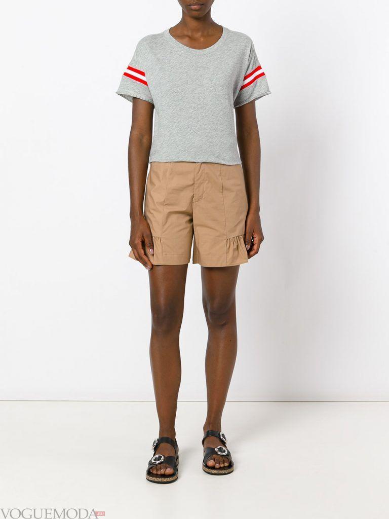 пляжные шорты бежевые