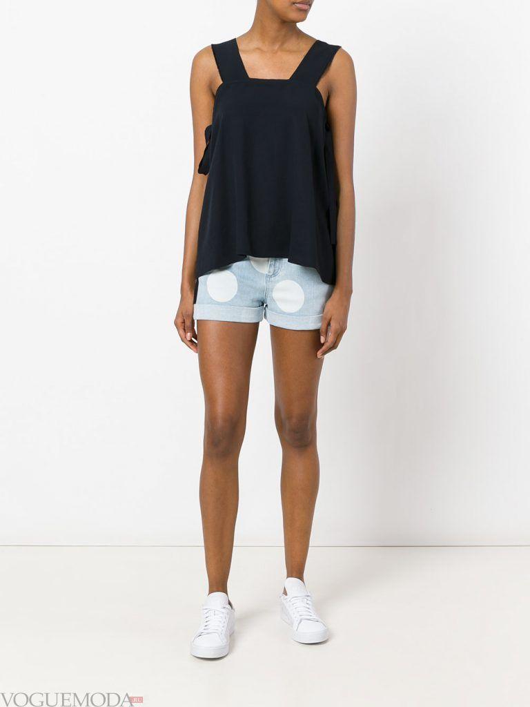 пляжные шорты джинсовые