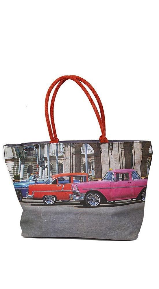 пляжная сумка с изображением