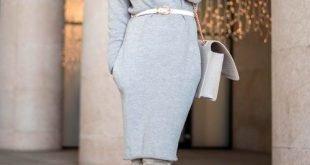 зимние замшевые ботфорты серые