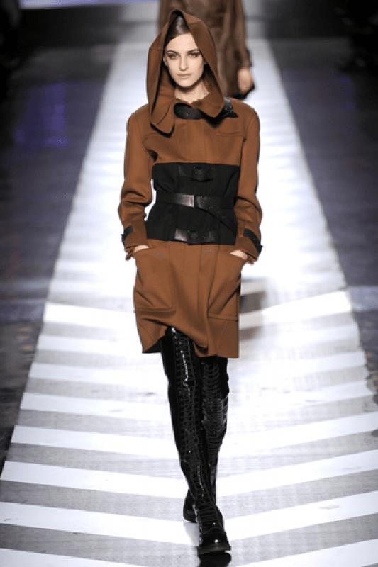 зимние ботфорты-чулки кожаные