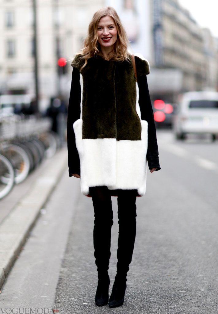 зимние ботфорты-чулки высокие