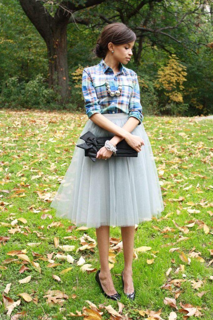 гипюровая юбка пачка светлая