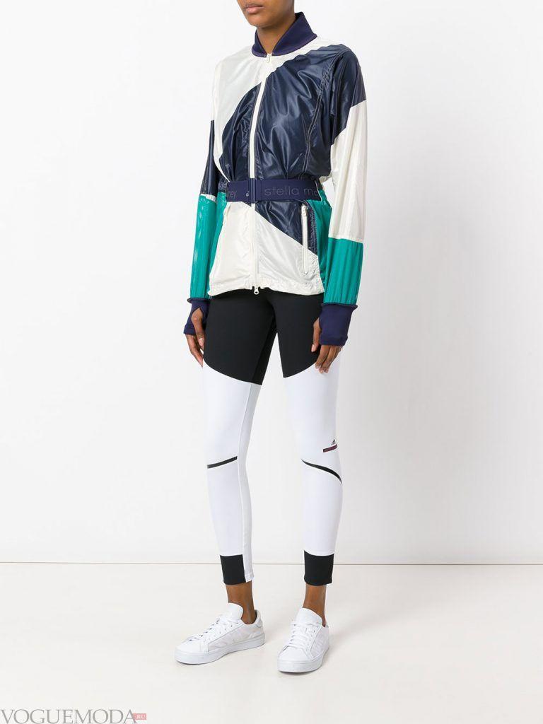 спортивная куртка короткая