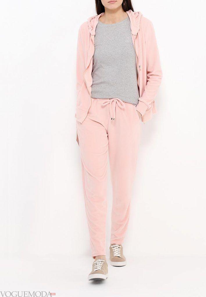 спортивный костюм розовый