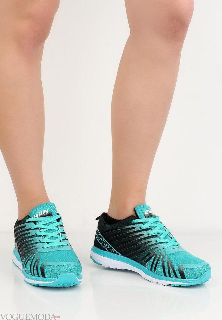 спортивные кроссовки бирюзовые