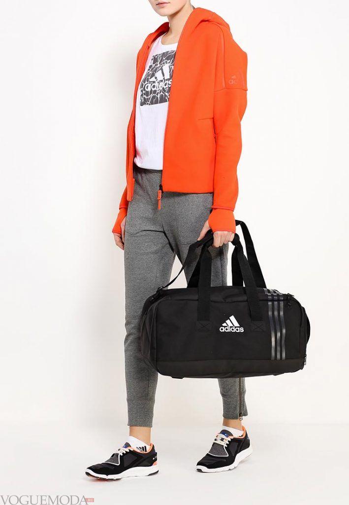 сумка спортивная черная