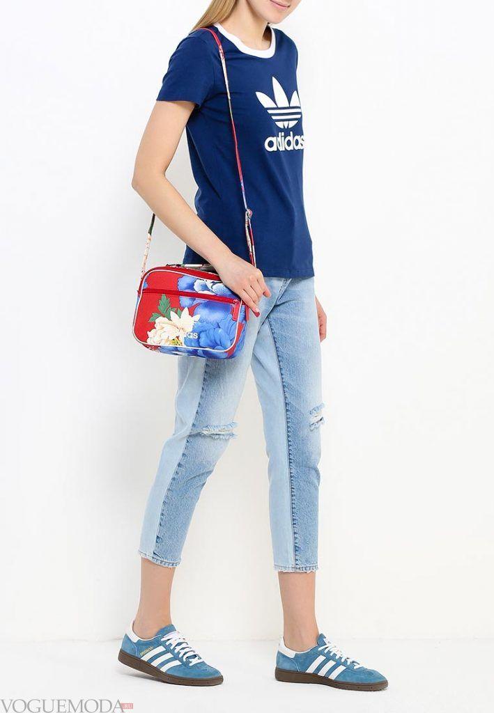 сумка спортивная с рисунком