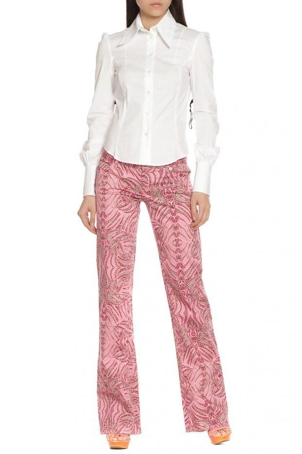 образ брюки с орнаментом