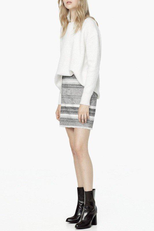 стильная юбка короткая