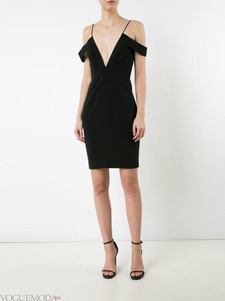 короткое выпускное платье тюльпан с вырезом
