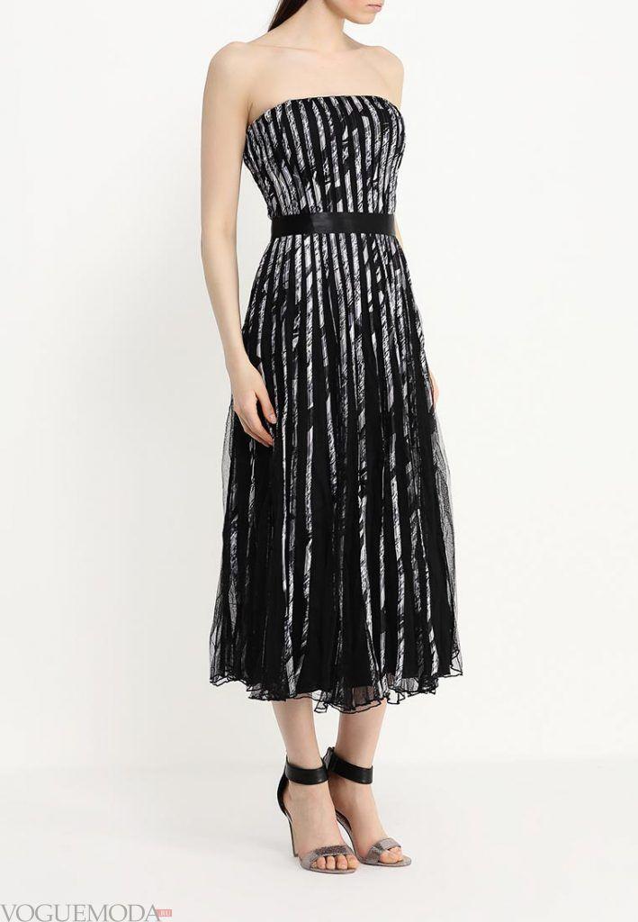 короткое выпускное платье с корсетом блестящее