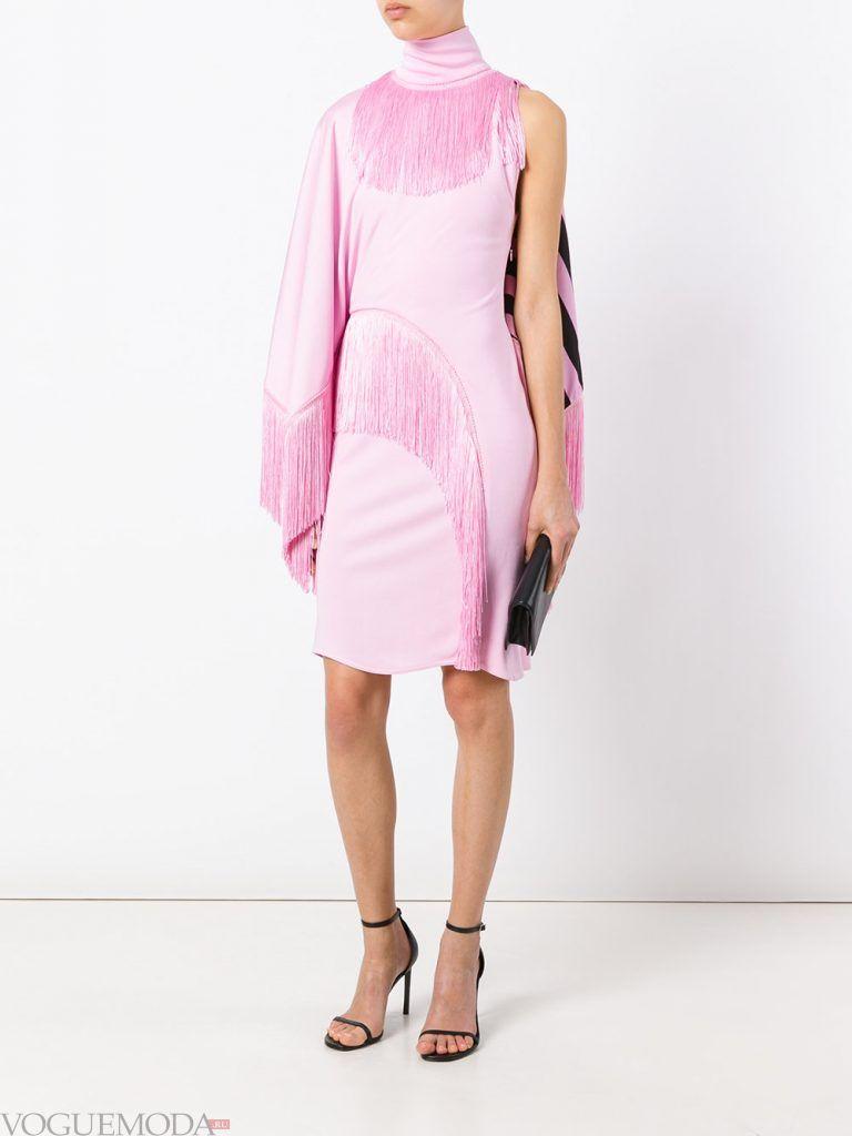 короткое выпускное платье фиолетовое