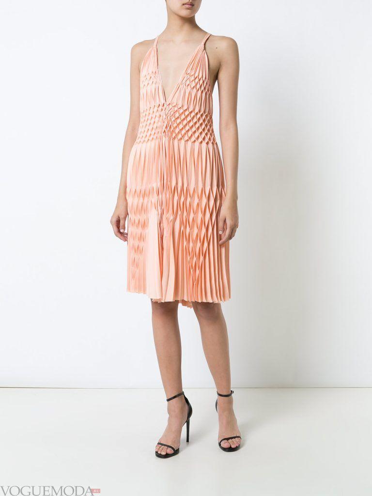 короткое выпускное платье розовое