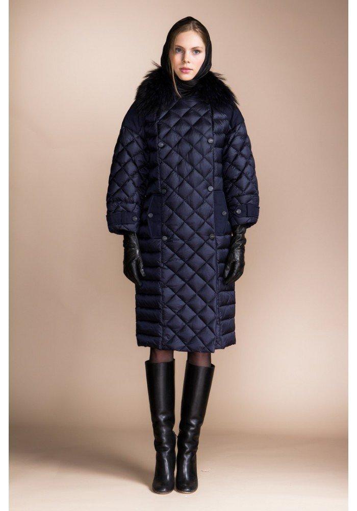 зимний лук с курткой