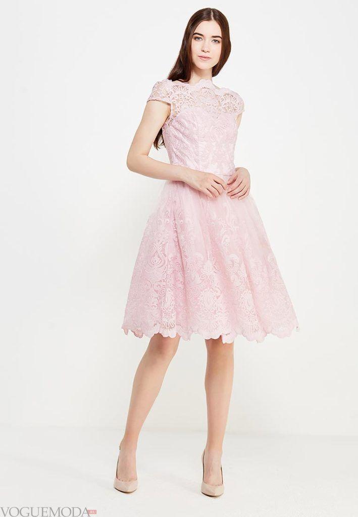 платье на день Святого Валентина кружевное