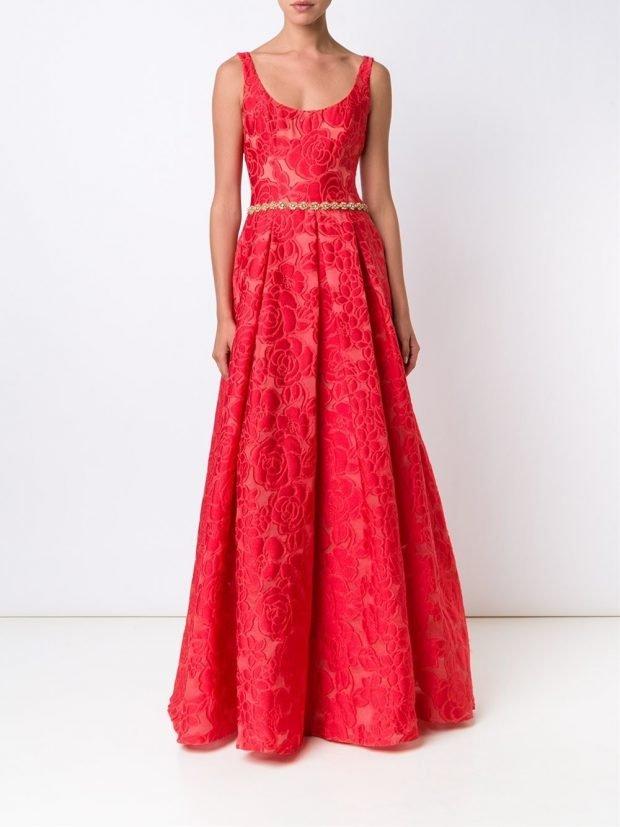 платье на день Святого Валентина вечернее