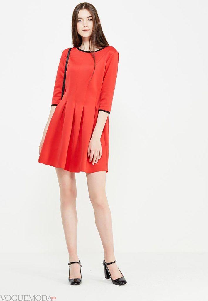 платье на день Святого Валентина красное