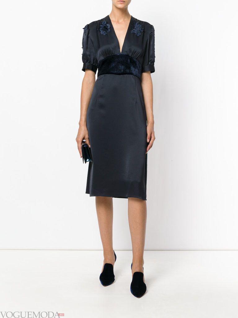 новогоднее платье для корпоратива в офисе черное