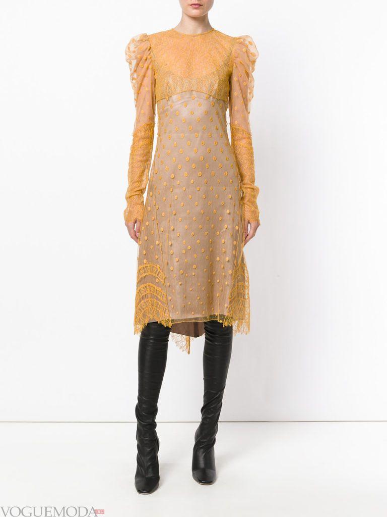 платье для новогоднего корпоратива желтое