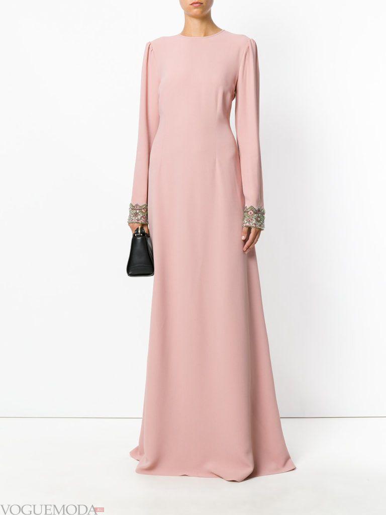 платье для новогоднего корпоратива розоаое