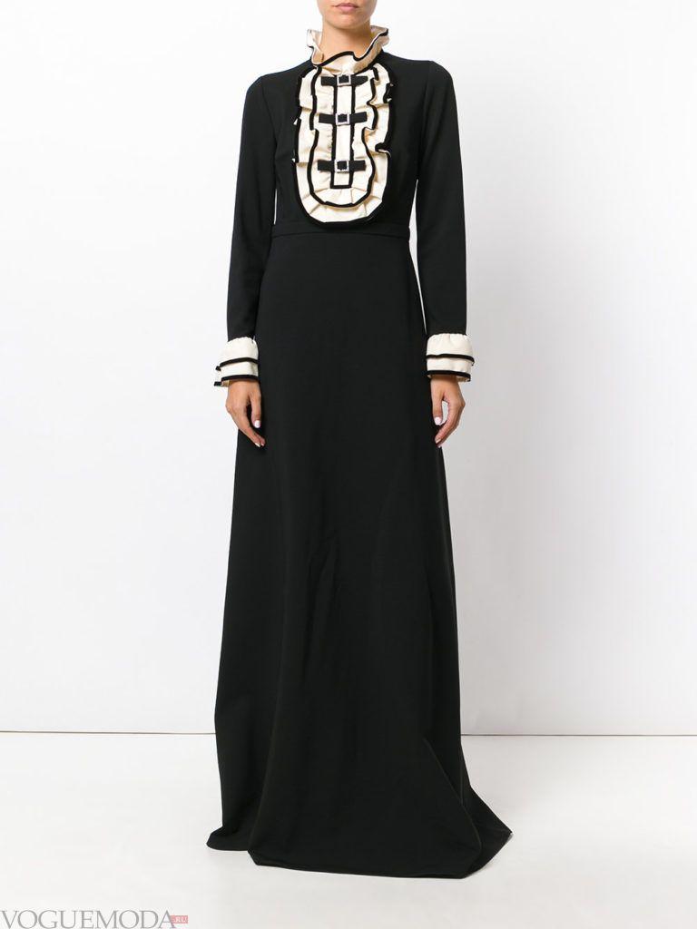 новогоднее платье для корпоратива в ресторане черное