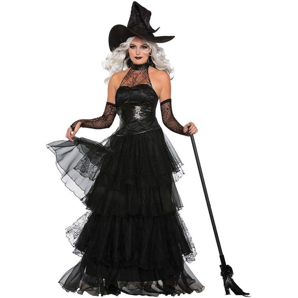 костюм ведьмы на хэллоуин многослойный