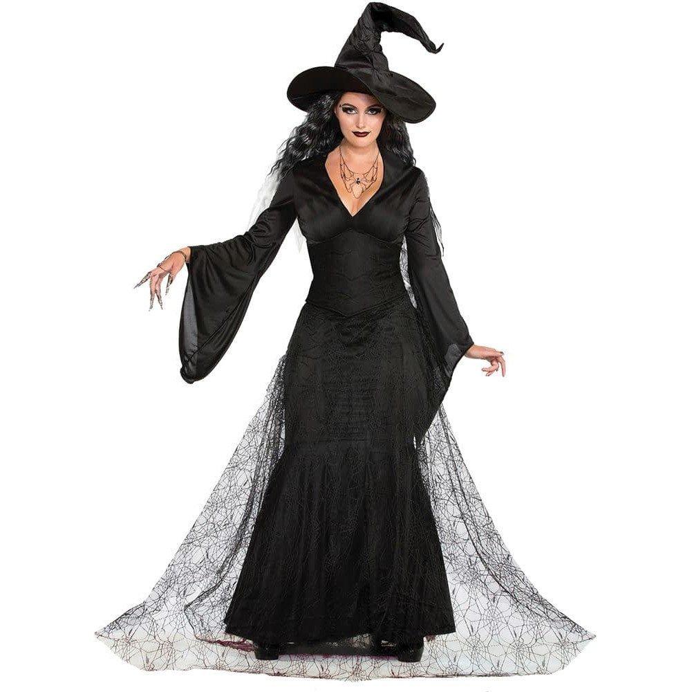 костюм ведьмы на хэллоуин с фатином