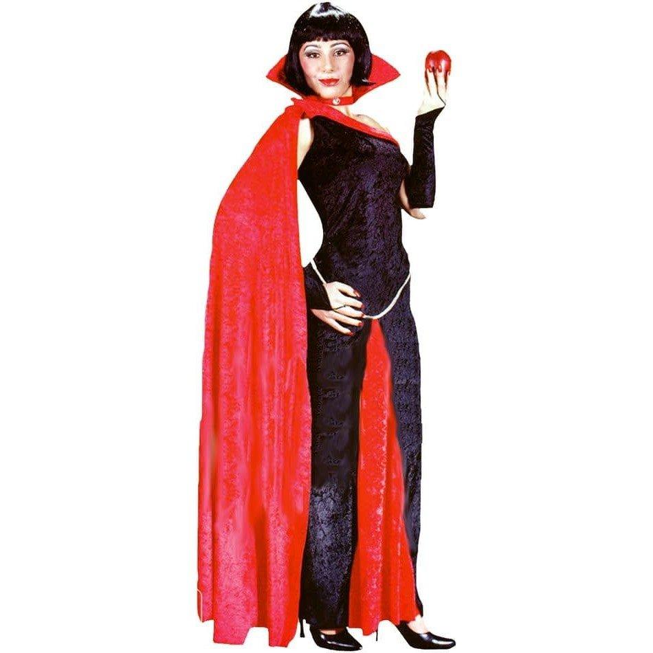 костюм вампирши на хэллоуин с воротником
