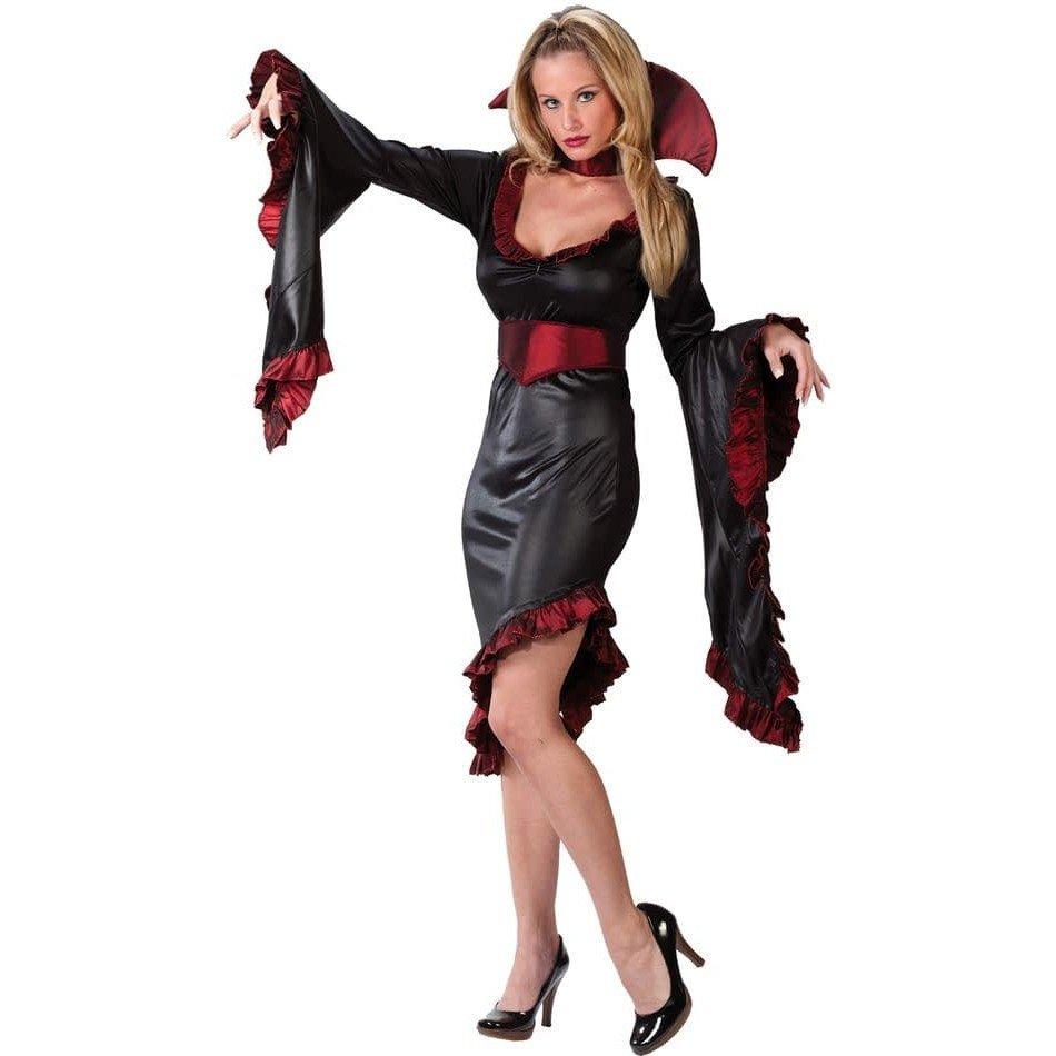 костюм вампирши на хэллоуин короткий