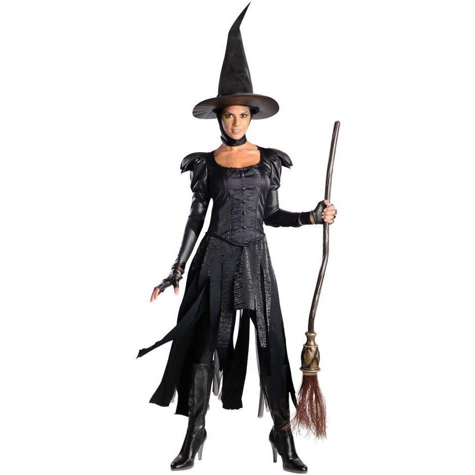 костюм ведьмы на хэллоуин асимметричный