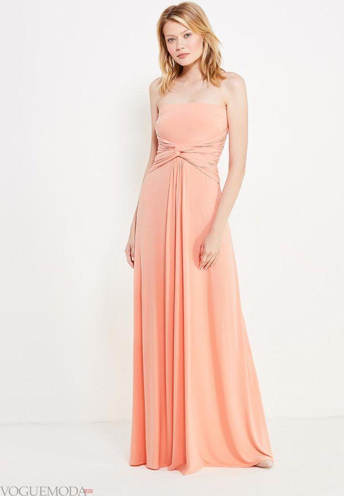 с чем носить коралловое платье в пол в греческом стиле фото