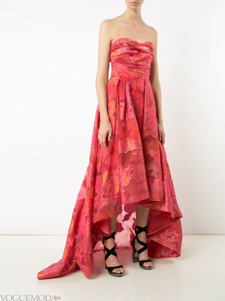 коралловое платье с чем носить фото с принтом