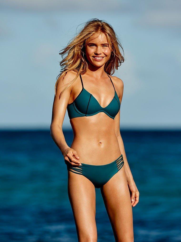 купальник бикини от Victoria's Secret зеленый