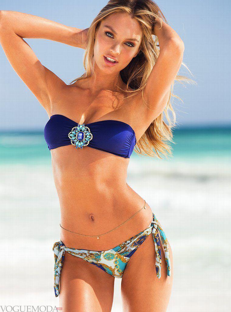 купальник «Бандо» от Victoria's Secret с декором