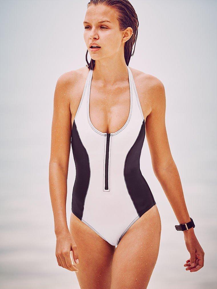 слитный купальник от Victoria's Secret двухцветный